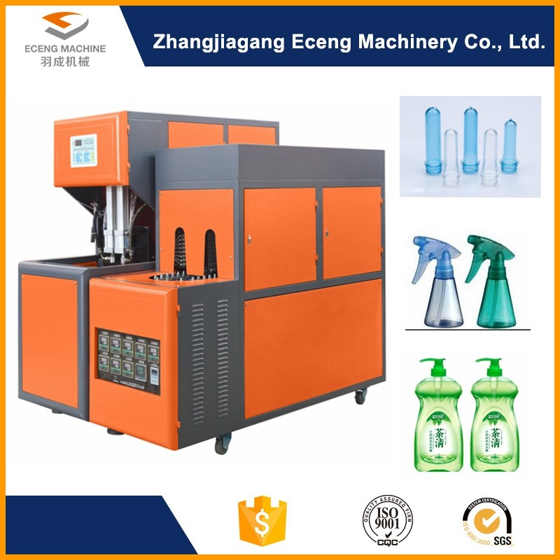 12KW 800 BPH Semi Auto Blowing Machine , Blow Moulding Machine For Pet Bottle